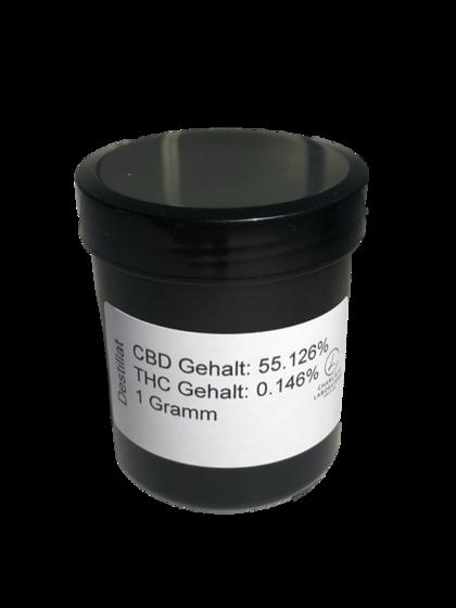 Swisscannamedix® CBD Wax 55% (1gr)